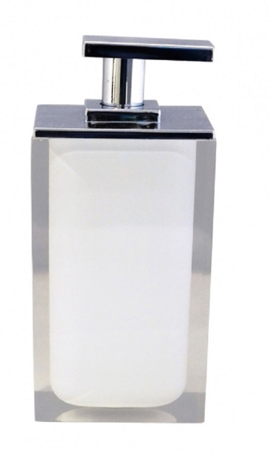 Дозатор для жидкого мыла Ridder Colours, цвет: белый, 300 мл13296Дозатор для жидкого мыла Ridder Colours, изготовленный из экологичной полирезины,отлично подойдет для вашей ванной комнаты.Такой аксессуар очень удобен в использовании, достаточно лишь перелить жидкое мыло вдозатор, а когда необходимо использование мыла, легким нажатием выдавить нужноеколичество. Дозатор для жидкого мыла Ridder Colours создаст особую атмосферу уюта и максимальногокомфорта в ванной.Объем дозатора: 300 мл.
