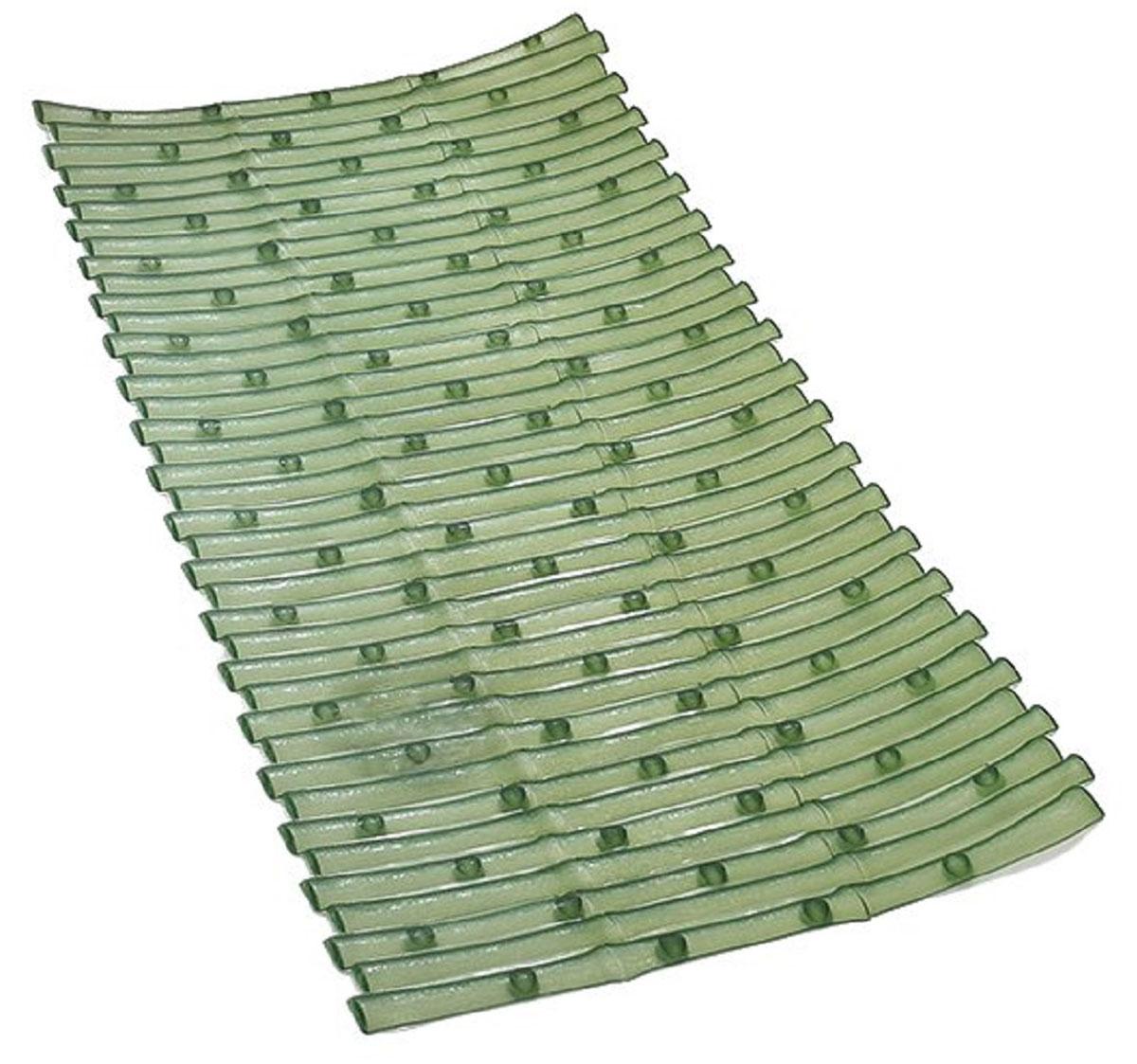Коврик для ванной Ridder Bambus, противоскользящий, цвет: зеленый, 40 х 81 см391602Высококачественные немецкие коврики Bambus созданы для вашего удобства. Состав и свойства противоскользящих ковриков: ПВХ с защитой от плесени и грибка, Имеются присоски для крепления. Безопасность изделия соответствует стандартам LGA (Германия).