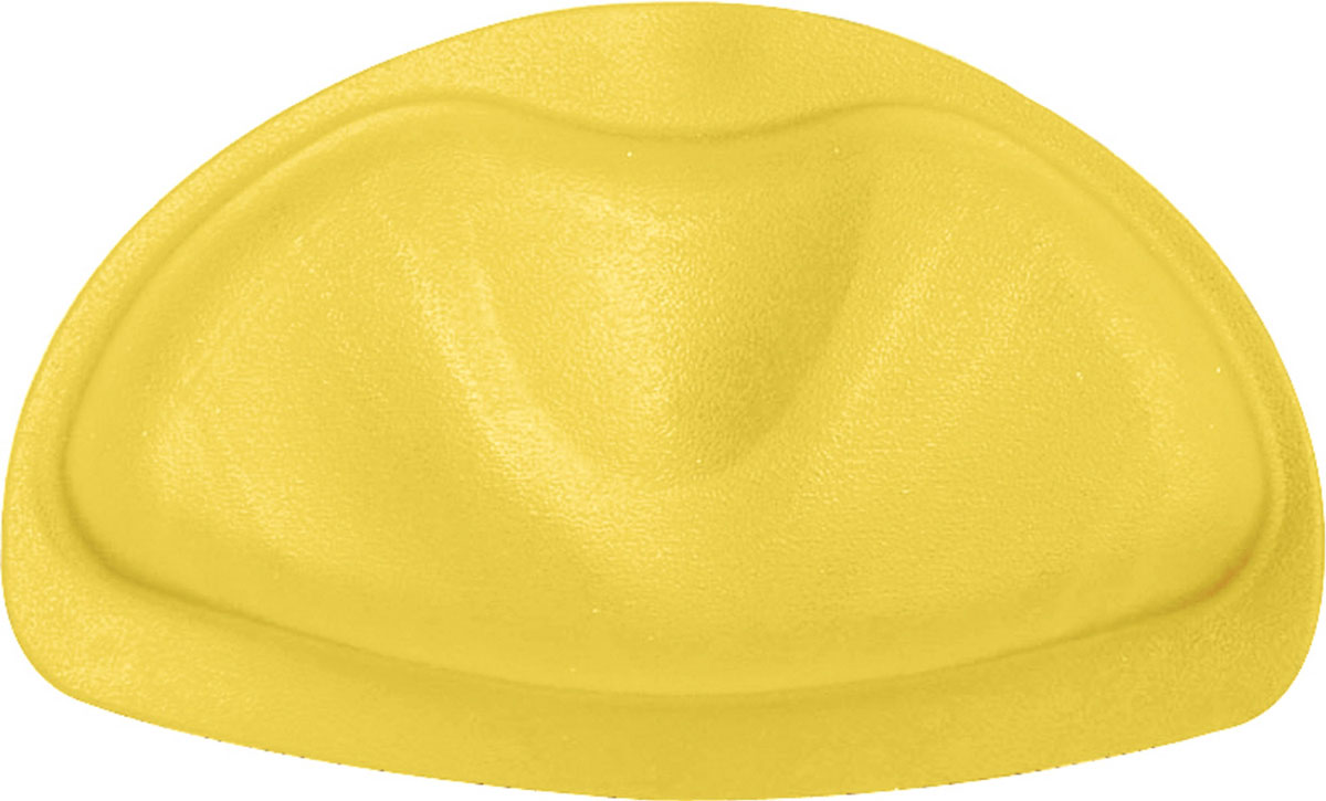 Подушка для ванны Ridder, на присосках, цвет: желтый, 30 х 20 х 3 см68/5/1Подушка Ridder обеспечивает комфорт во время принятия ванны. Крепится на поверхность ванны при помощи присосок. Выполнена из каучука с защитой от плесени и грибка. Размер подушки: 30 х 20 см. Высота подушки: 3 см.