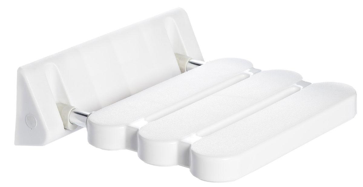Сиденье в ванну Ridder, откидное, цвет: белый, хром. А002001122250101Высококачественное немецкое сиденье для ванны разработано и запатентовано компанией Ridder. Данное изделие имеет откидной механизм. Посадочная часть состоит из рифленых реек, не впитывающих влагу. Длина сидения - 310 мм. Глубина сидения - 230 мм. Максимальная нагрузка - 100 кг. Состав: каркас - алюминий, сиденье - пластик. В комплект входят саморезы+дюбели и инструкция.