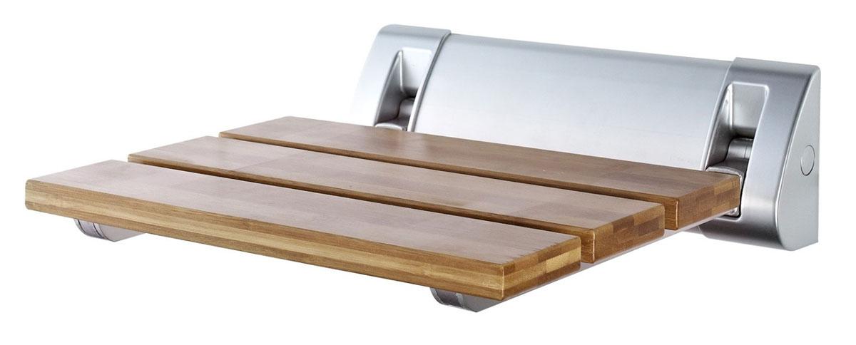 Сиденье в ванну Ridder, откидное, цвет: бамбук, матовый хромА0020200Серия Assistent создана для комфорта и безопасности/ Высококачественное немецкое сиденье для ванны разработано и запатентовано компанией Ridder. Данное изделие имеет откидной механизм. Посадочная часть состоит из рифленых реек, не впитывающих влагу. Длина сидения - 320 мм. Глубина сидения - 230 мм. Максимальная нагрузка - 150 кг. Состав: каркас - алюминий, сиденье - бамбук. В комплект входят саморезы, дюбели и инструкция.