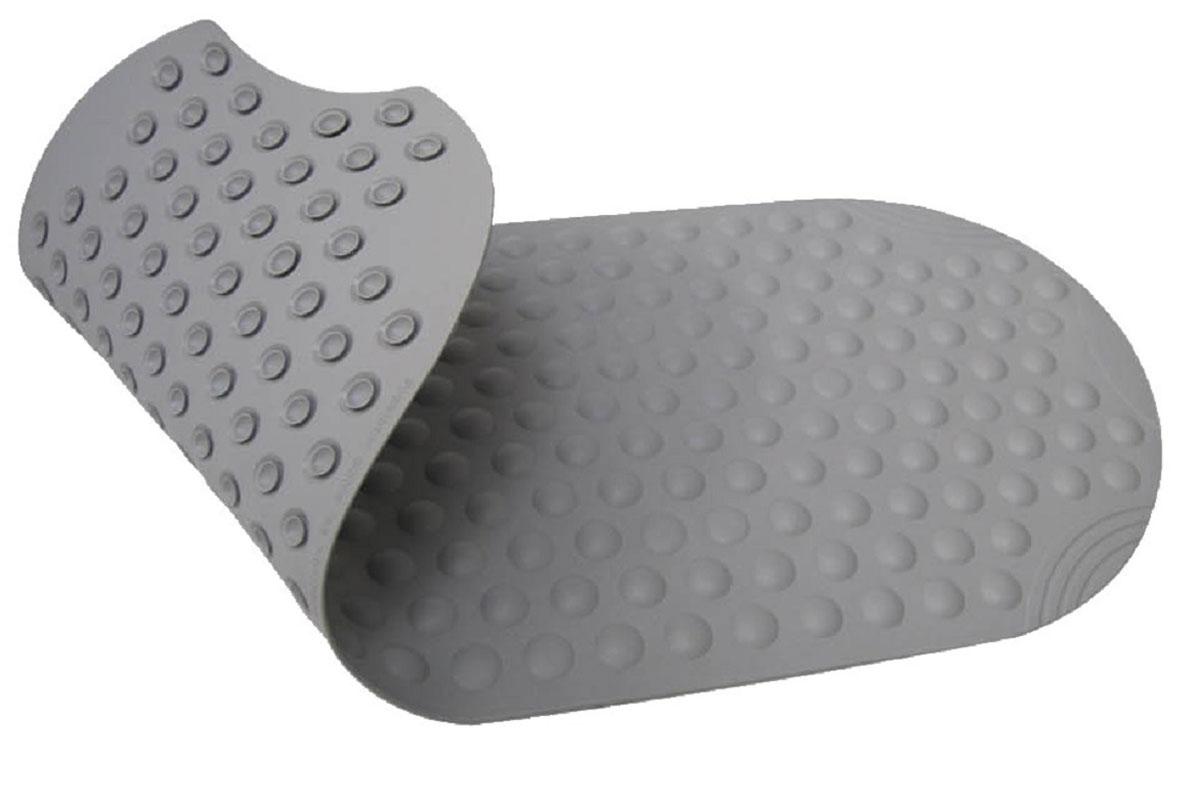 Коврик для ванной Ridder Tecno+, противоскользящий, на присосках, цвет: серый, 38 х 89 см531-105Высококачественные немецкие коврики Tecno+ созданы для вашего удобства. Состав и свойства противоскользящих ковриков: синтетический каучук с защитой от плесени и грибка, не содержит ПВХ. Имеются присоски для крепления. Безопасность изделия соответствует стандартам LGA (Германия).