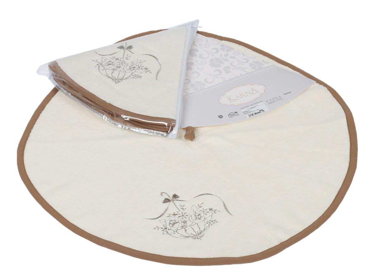 Салфетка кухонная Karna Bella, диаметр 50 см. 505/CHAR004505/CHAR004
