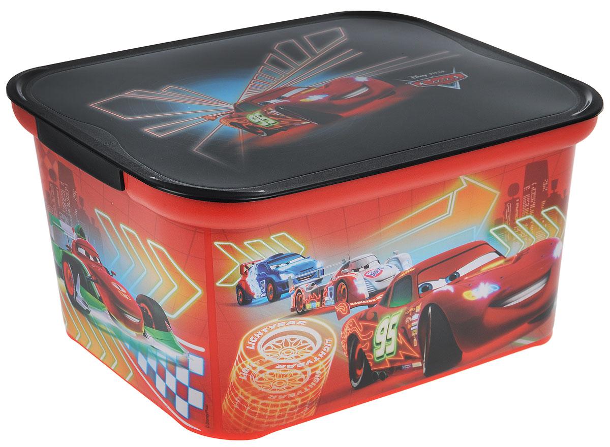 Коробка для хранения Curver Amsterdam S, цвет: красный, черный, 29 х 20,5 х 14,2 смQL10143-RDКоробка для хранения Curver Amsterdam S - это вместительная коробка для игрушек и других мелочей малыша с изображением героев мультфильма Тачки. Коробка поможет организовать иукрасить детскую комнату. Накладываемая крышка прикроет содержимое контейнера и позволит сэкономить место.Размеры коробки: 29 х 20,5 х 14,2 см.