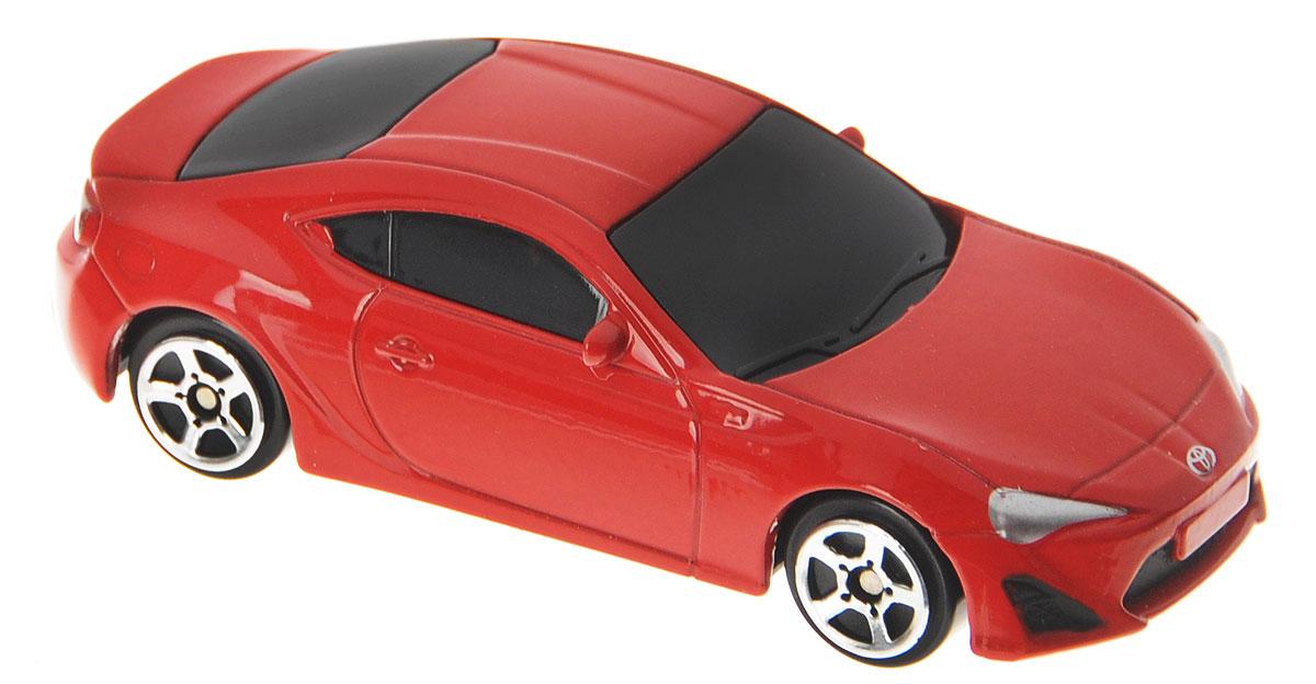 Рыжий Кот Модель автомобиля Toyota 86 масштаб 1:64