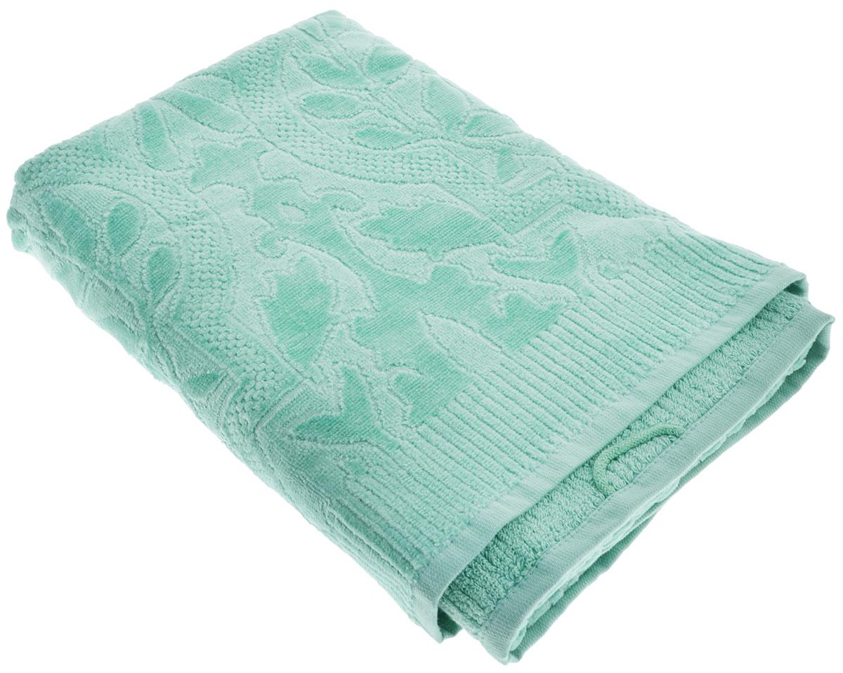Полотенце Guten Morgen Виридиан, цвет: зеленый, 70 х 130 см44038.3При производстве полотенца Guten Morgen Виридиан используется сырье самого высокого качества: безопасные красители и 100% хлопок. Полотенца - это просто необходимый атрибут каждой ванной комнаты в любом доме. Полотенца Guten Morgen отлично впитывают влагу, комфортны для кожи, не содержат аллергенных красителей, имеют стойкий к стирке цвет.Состав: 100% хлопок; Размер: 70 х 130 см.