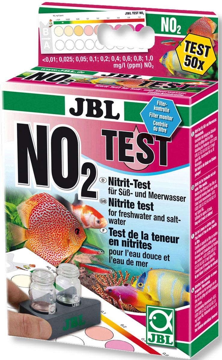 Тест JBL Nitrit Test-Set NO2 для определения содержания нитритов в пресной и морской воде на 50 измерений0120710JBL Nitrit Test-Set NO2 - Тест для определения содержания нитритов в пресной и морской воде на 50 измерений