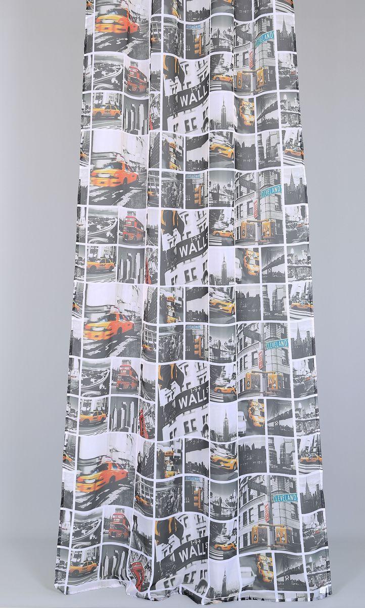 Тюль Garden Urban Road, на ленте, высота 260 см82193_ЛЕНТАРоскошный тюль Urban Road выполнен из 100% полиэстера и украшен автомобильным принтом. Оригинальная текстура ткани и изящный дизайн привлекут к себе внимание и позволят органично вписаться в интерьер помещения. Тюль крепится при помощи ленты. Этот тюль будет долгое время радовать вас и вашу семью.