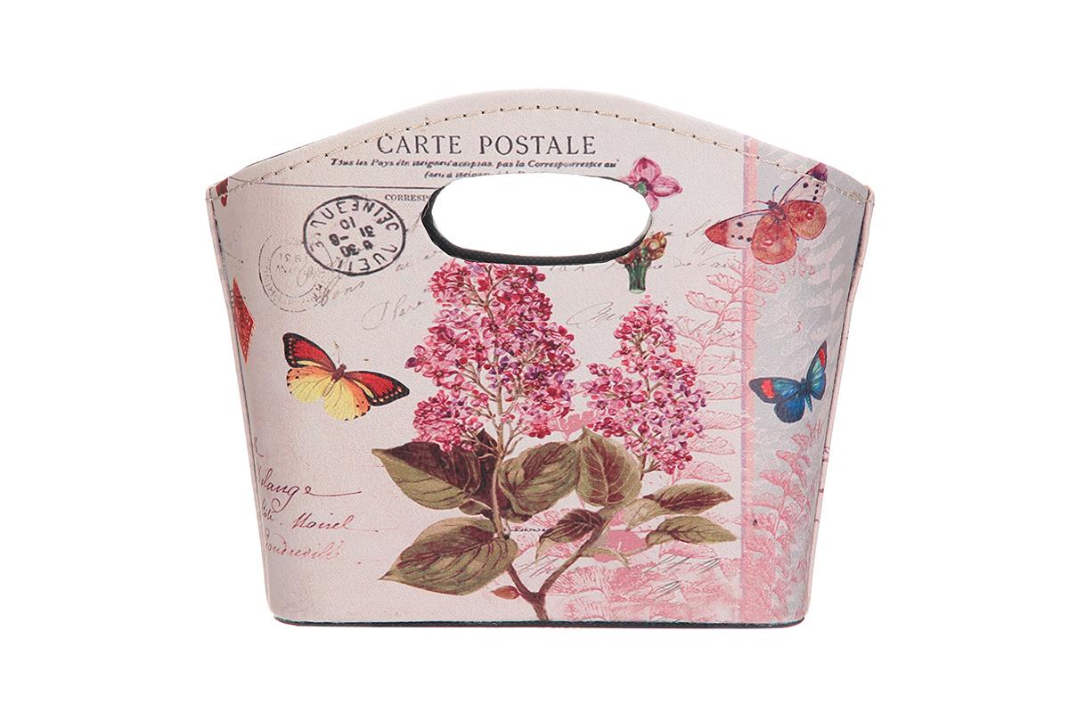 Сумка для хранения El Casa Сиреневый уют, 20 х 11 х 16 см el casa сумка холодильник цветы на розовом
