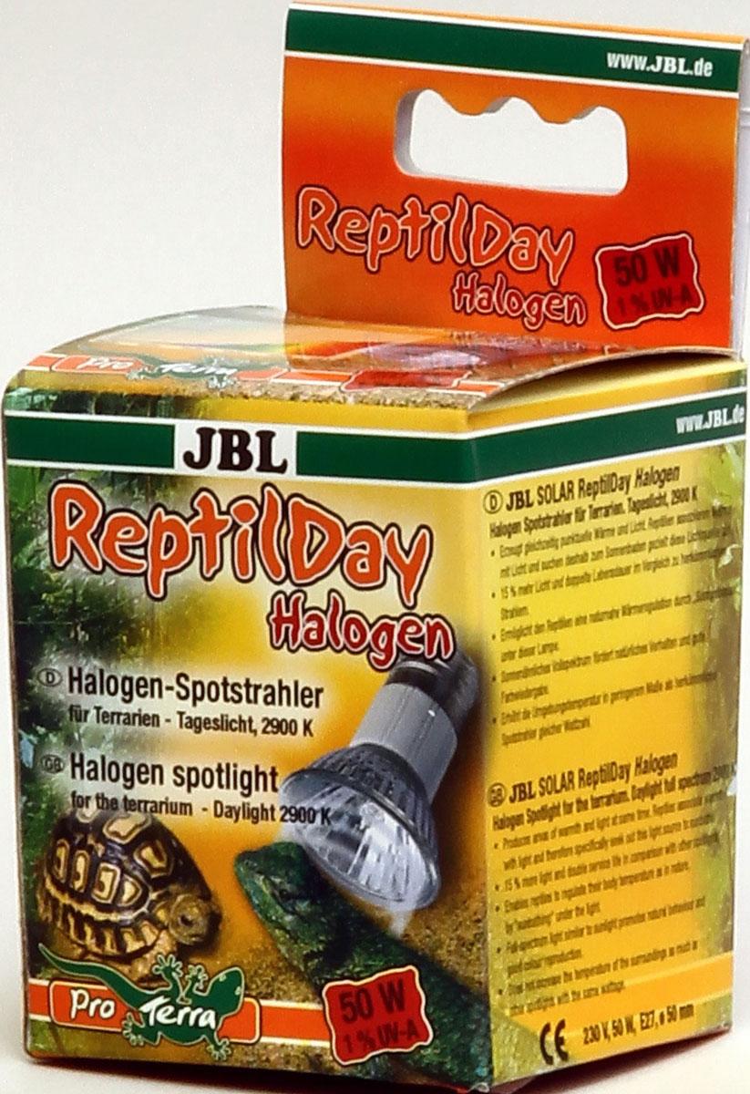 Галогеновая лампа для террариума JBL ReptilDay Halogen, 50 Вт0120710Галогеновая лампа для террариума JBL ReptilDay Halogen генерирует одновременно тепло и свет. Рептилии ассоциируют тепло со светом и целенаправленно направляются к источнику света, чтобы принять солнечные ванны. С помощью таких солнечных ванн рептилия обеспечивает себе естественную регуляцию тепла. Полный спектр лампы, аналогичный солнечному спектру, стимулирует естественное поведение и обеспечивает хорошую цветопередачу. Лампа JBL ReptilDay Halogen на 15% ярче и имеет вдвое больший срок службы по сравнению с традиционными светильниками. Незначительно повышает температуру воздуха по сравнению с традиционными светильниками подобной мощности. Занимает немного места. Корпус прочный и менее ломкий. Тип цоколя: Е27. Напряжение: 230 В. Диаметр: 50 мм. Температура света: 2900 К. Высота террариума: 50-80 см. Уважаемые клиенты! Обращаем ваше внимание на возможные изменения в дизайне упаковки. Качественные характеристики товара остаются неизменными. Поставка осуществляется в зависимости от наличия на складе.