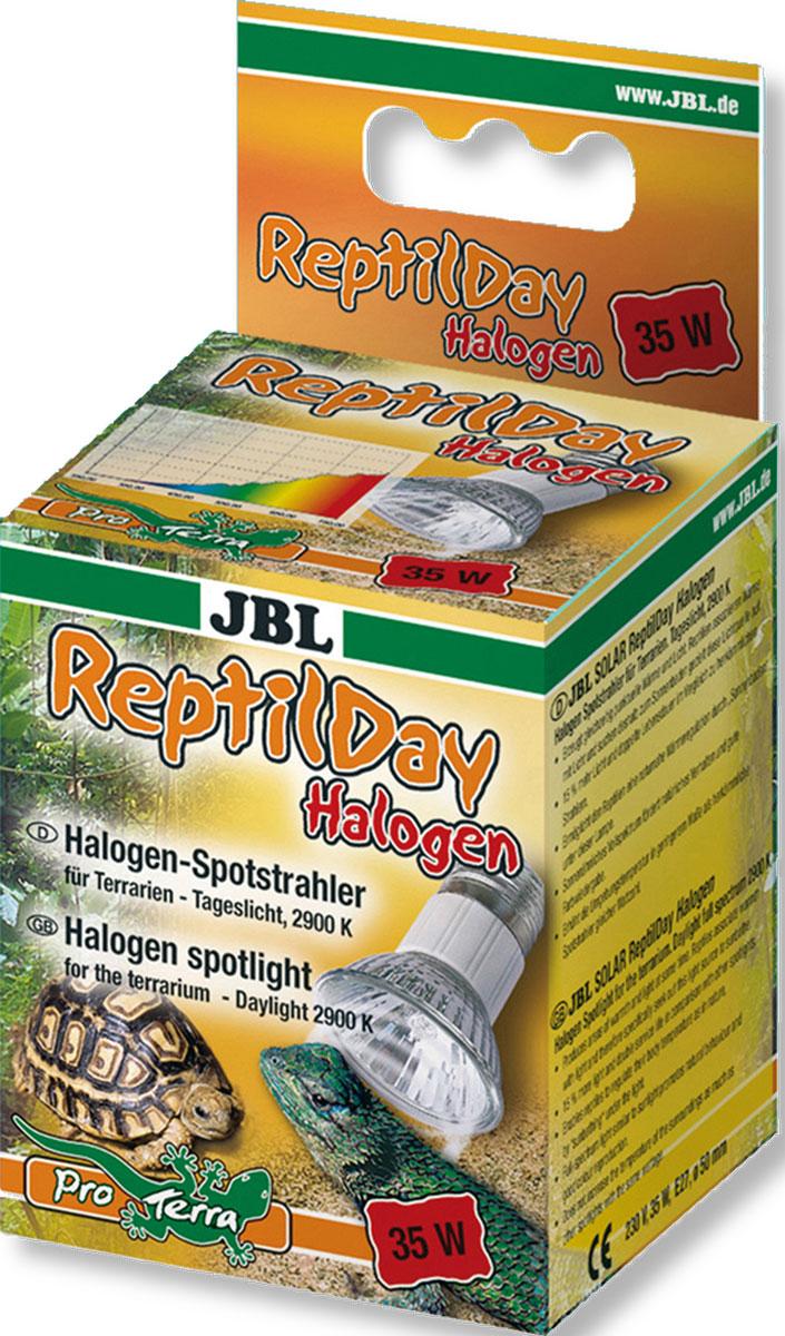 Галогеновая лампа для террариумаJBL ReptilDay Halogen, 35 Вт0120710JBL ReptilDay Halogen - Галогеновая лампа для террариума, 35 ватт
