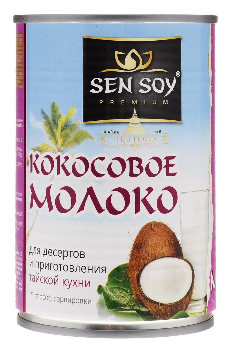 Sen Soy Кокосовое молоко 5-7%, 400 мл