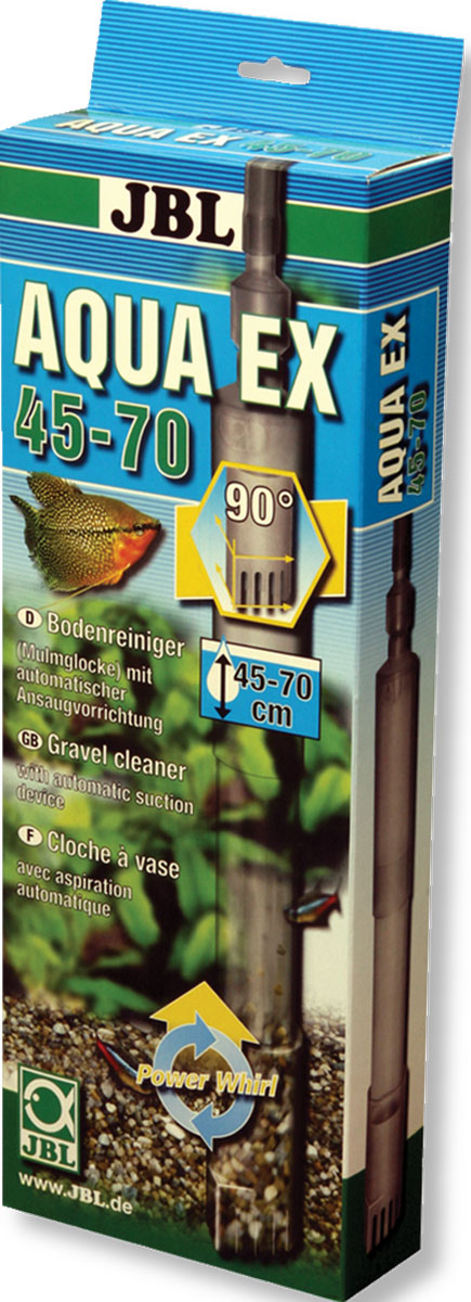 Система очистки грунта JBL AquaEx для аквариумов высотой 45-70 см0120710JBL AquaEx Set 45-70 - Система очистки грунта для аквариумов высотой 45-70 см.