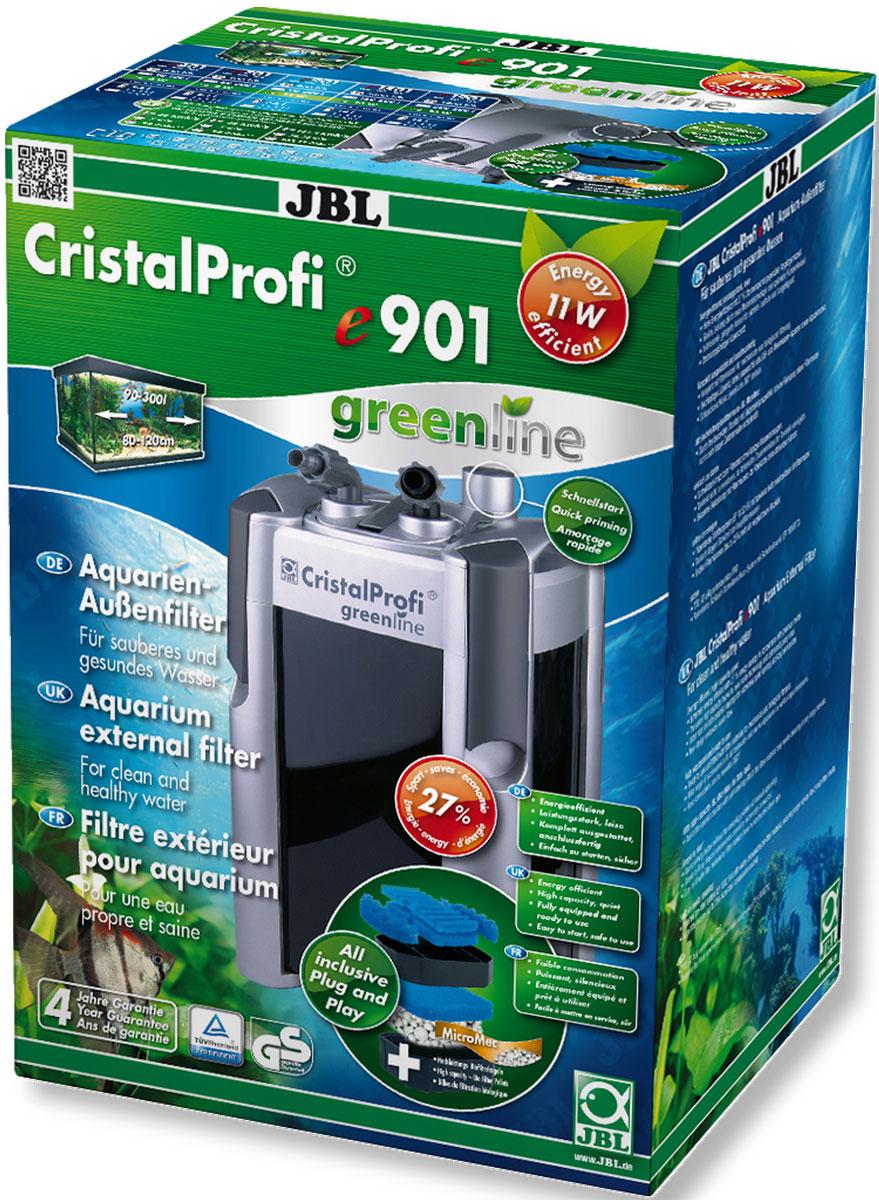 Фильтр внешний JBL CristalProfi e901 greenline, для аквариума 90-300 л, 900 л/ч0120710Внешний аквариумный фильтр JBL CristalProfi e901 greenline - это экономичный и в то же время мощный фильтр для чистой и здоровой воды в аквариуме. Большой объем и различные слои фильтрации обеспечивают высокую биологическую производительность фильтра. Шарики биофильтра имеют различный диаметр, что способствует эффекту самоочищения. Фильтр предназначен для аквариумов объемом 90-300 л (длина 80-120 см). Потребляемая мощность 11 Вт обеспечивает экономию энергии. При эффективной циркуляции воды фильтр потребляет на 31% меньше энергии, чем аналогичные предшественники. Запатентованный блок присоединения шлангов с предохранительным клапаном предотвращает утечку воды при отключении фильтра. Фильтр полностью оборудован и готов к подключению: встроенная система быстрого запуска означает запуск фильтра без всасывания воды. Простая сборка. Фильтрующий материал также в комплекте. Очень тихая работа при производительности насоса 900 л/ч. Запатентованный префильтр: высокая производительность биофильтра объемом 7,6 л, запорный кран, соединение шланга с возможностью поворота на 360°, легко заменяемые фильтрующие материалы. Остатки растений, корма и продукты обмена веществ ухудшают качество воды в аквариуме. Хорошее качество воды необходимо для укрепления здоровья рыб и растений. Этого можно достичь с помощью аквариумного фильтра. Фильтр забирает воду из аквариума и устраняет грязь и отходы из воды. Фильтры также предоставляют бактериям, разлагающим загрязняющие вещества, идеальную среду обитания. В комплекте: внешний аквариумный фильтр, шланги, трубки 12/16, защитная решетка, уголок, присоски, фильтрующие материалы (шарики и губка биологический фильтрации).