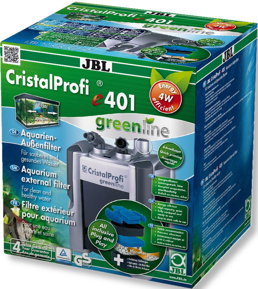Фильтр внешний JBL CristalProfi e1401 greenline, для аквариума 40-120 л, 450 л/ч0120710Внешний аквариумный фильтр JBL CristalProfi e1401 greenline - это экономичный и в то же время мощный фильтр для чистой и здоровой воды в аквариуме. Большой объем и различные слои фильтрации обеспечивают высокую биологическую производительность фильтра. Шарики биофильтра имеют различный диаметр, что способствует эффекту самоочищения. Фильтр предназначен для аквариумов объемом 40-120 л (длина 40-80 см). Потребляемая мощность 4 Вт обеспечивает экономию энергии. При эффективной циркуляции воды фильтр потребляет на 31% меньше энергии, чем аналогичные предшественники. Запатентованный блок присоединения шлангов с предохранительным клапаном предотвращает утечку воды при отключении фильтра. Фильтр полностью оборудован и готов к подключению: встроенная система быстрого запуска означает запуск фильтра без всасывания воды. Простая сборка. Фильтрующий материал также в комплекте. Очень тихая работа при производительности насоса 450 л/ч. Запатентованный префильтр: высокая производительность биофильтра объемом 4,6 л, запорный кран, соединение шланга с возможностью поворота на 360°, легко заменяемые фильтрующие материалы. Остатки растений, корма и продукты обмена веществ ухудшают качество воды в аквариуме. Хорошее качество воды необходимо для укрепления здоровья рыб и растений. Этого можно достичь с помощью аквариумного фильтра. Фильтр забирает воду из аквариума и устраняет грязь и отходы из воды. Фильтры также предоставляют бактериям, разлагающим загрязняющие вещества, идеальную среду обитания. В комплекте: внешний аквариумный фильтр, шланги, трубки 12/16, защитная решетка, уголок, присоски, фильтрующие материалы (шарики и губка биологический фильтрации).