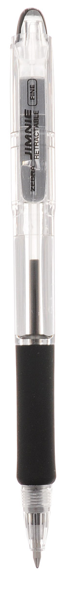 Zebra Ручка шариковая Jimnie Retractable 0,7 мм цвет чернил черный730396Автоматическая шариковая ручка Zebra Jimnie Retractable станет незаменимыми атрибутом для учебы или работы.Тщательно продуманный эргономичный дизайн, каучуковая подушка для пальцев, пишущий шарик нового поколения, большой пластиковый зажим - ко всем этим достоинствам ручки Jimnie Classic добавляется удобство и функциональность автоматической ручки.Надежная ручка строгого классического дизайна станет верным помощником для студента и офисного работника.