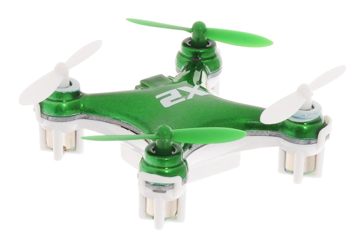 Pilotage Квадрокоптер на радиоуправлении Nano-X2 цвет зеленый