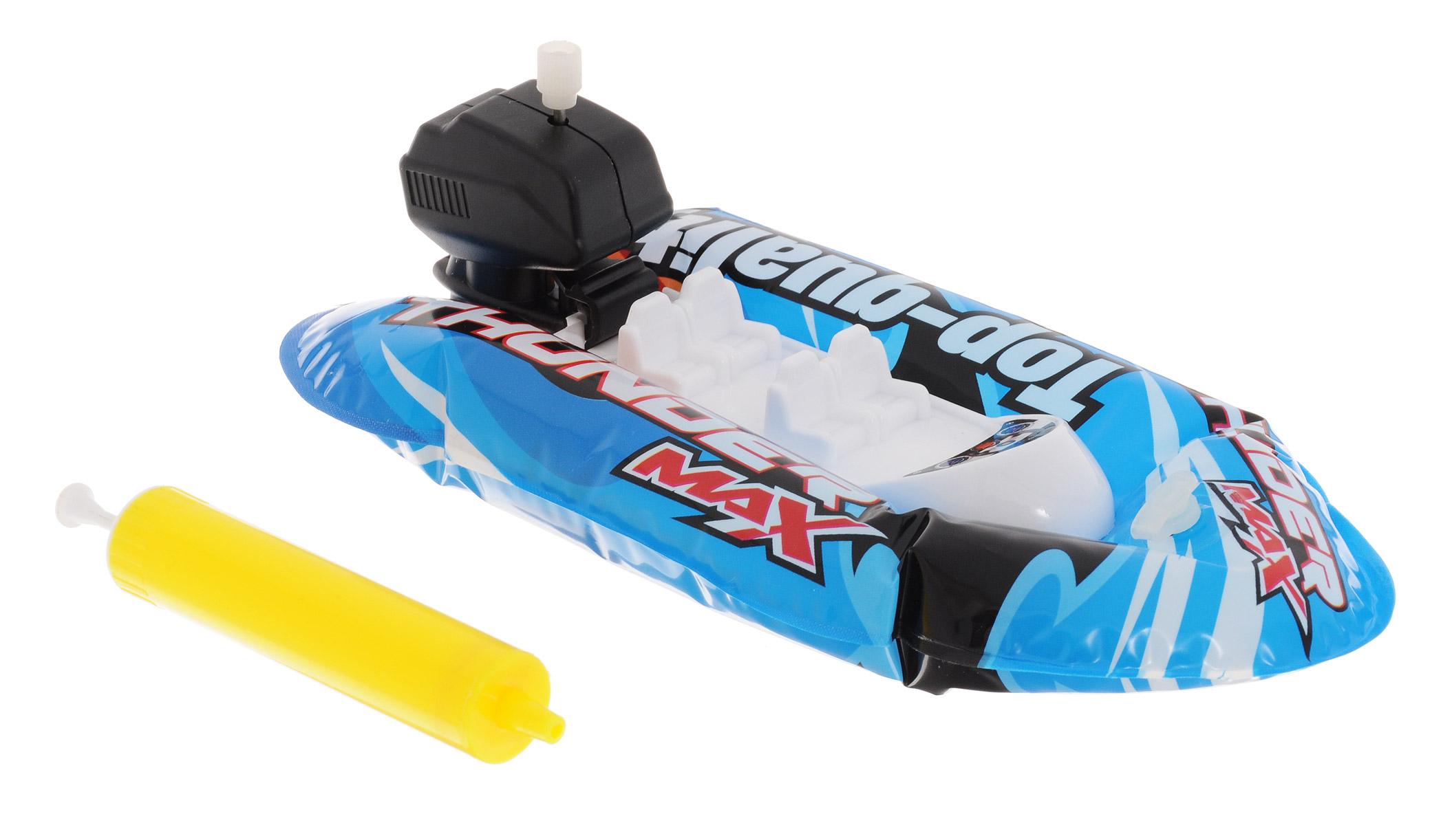 Pilotage Надувная лодка Fun Boat c насосом цвет синий