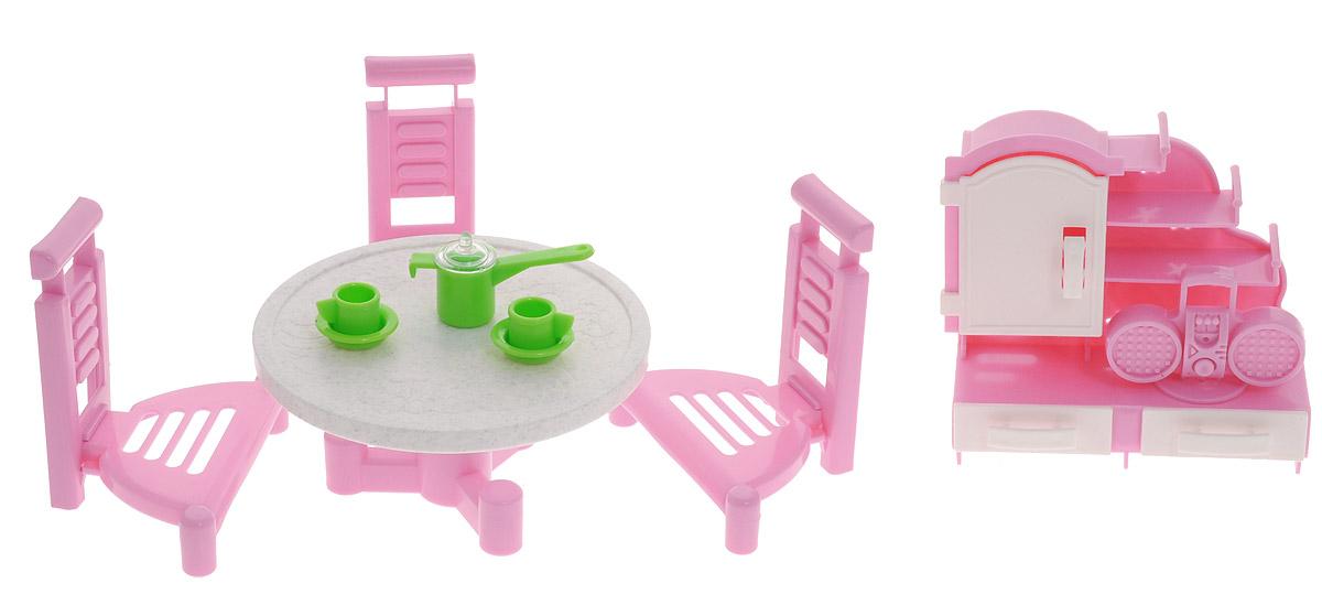 Форма Набор мебели для кукол Гостиная 2 кукол домик