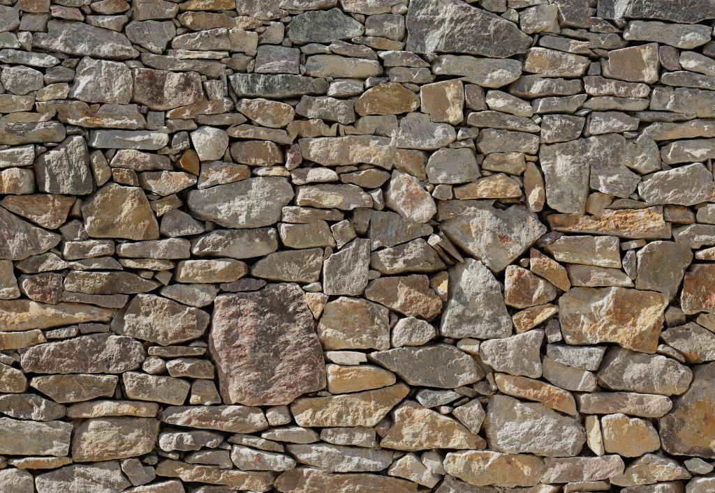 Фотообои Komar Каменная стена, 3,68 х 2,54 м фотообои komar золотая ночь 2 54 х 1 84 м