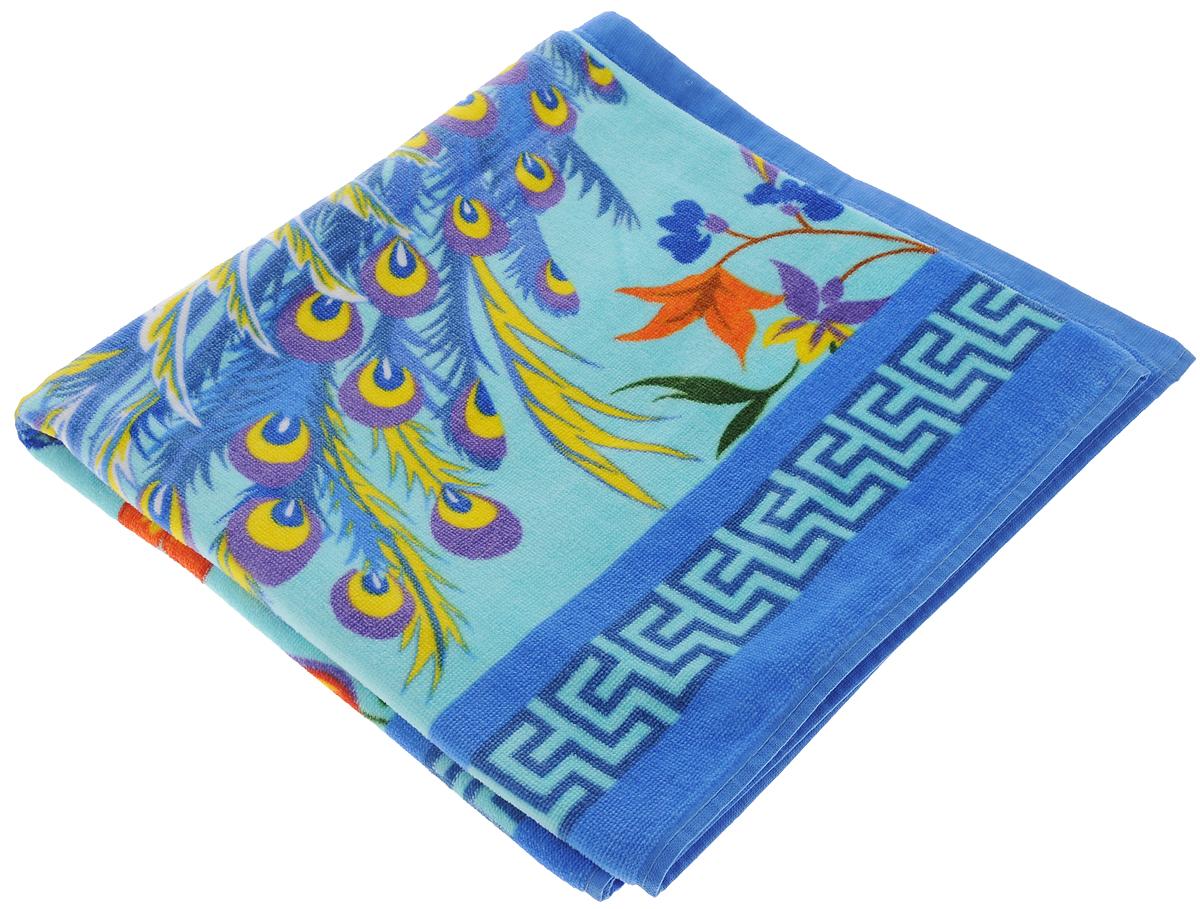 Полотенце Soavita Premium. Птица, 70 х 140 см. 874311092019Махровое полотенце Soavita Premium. Птица выполнено из 100% хлопка и декорировано оригинальным рисунком. Изделие отлично впитывает влагу, быстро сохнет, сохраняет яркость цвета и не теряет форму даже после многократных стирок. Полотенце очень практично и неприхотливо в уходе. Оно создаст прекрасное настроение и украсит интерьер в ванной комнате.