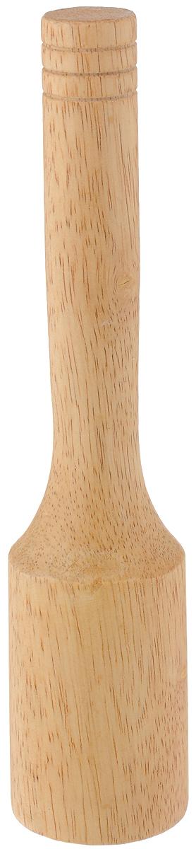 Толкушка LaSella, длина 23 см115510Толкушка LaSella изготовлена из каучукового дерева. Предназначена для измельчения картофеля и других мягких вареных овощей. Аксессуар, который необходим на каждой кухне. Такая толкушка станет незаменимой помощницей в приготовлении овощного пюре. Длина толкушки: 23 см. Диаметр рабочей поверхности: 5 см.