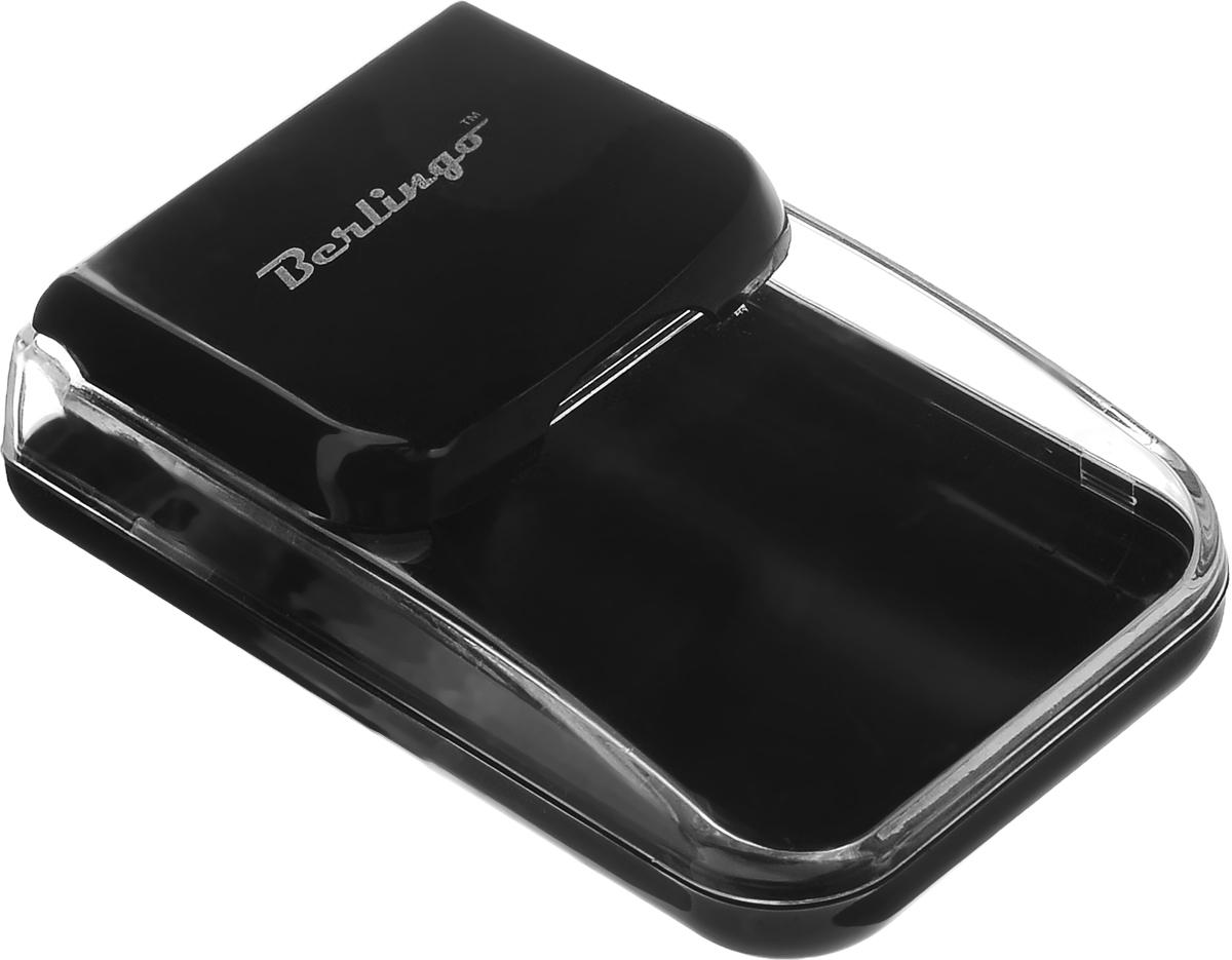 Диспенсер для скрепок Berlingo, магнитный, цвет: черныйDBd_00029
