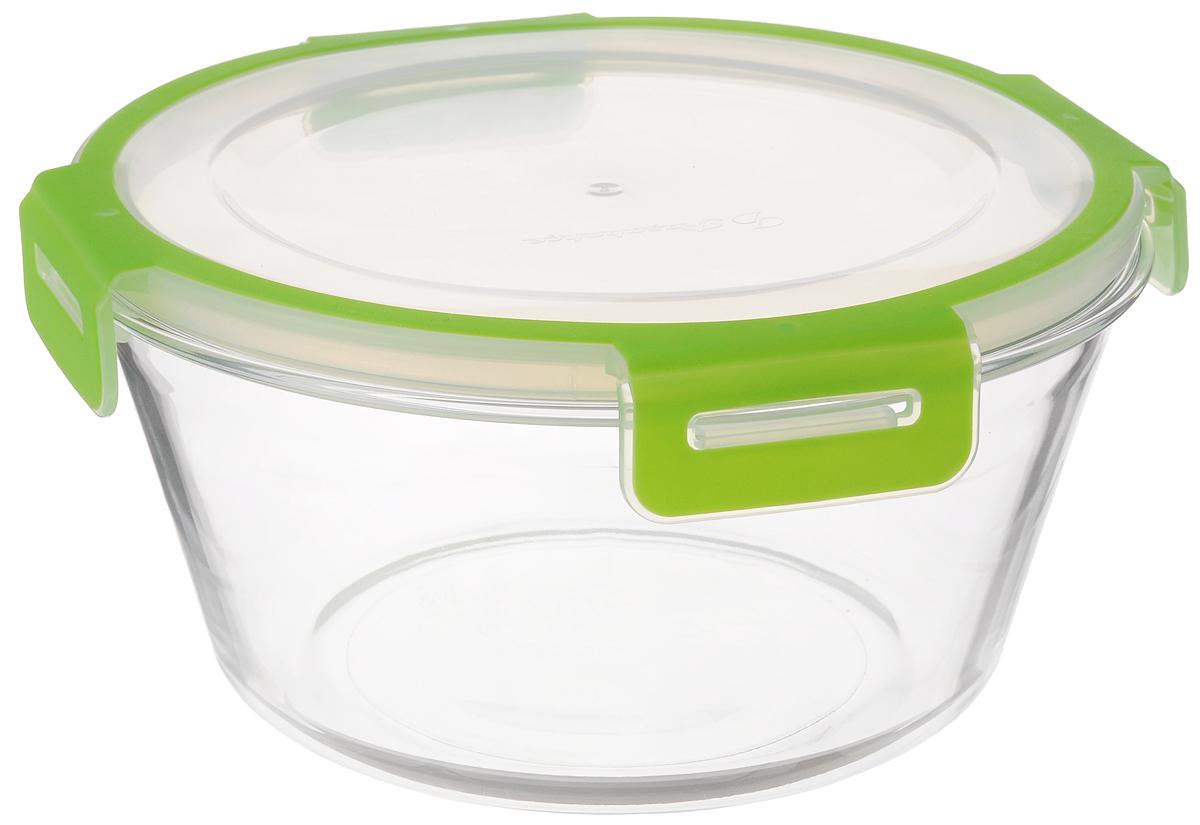 Контейнер для хранения продуктов Pasabahce Storemax, 2,22 л21395599Контейнер для хранения продуктов Storemax выполнен из высококачественного натрий-кальций-силикатного стекла. Контейнер оснащен крышкой из пластика.Такой контейнер прекрасно подойдет для хранения ягод, овощей и многого другого. Оригинальный современный дизайн и функциональность сделают этот контейнер достойным дополнением к вашему кухонному инвентарю.Можно использовать в холодильной камере и в микроволновой печи. Можно мыть в посудомоечной машине. Диаметр контейнера (по верхнему краю): 20 см.Высота контейнера: 10 см.