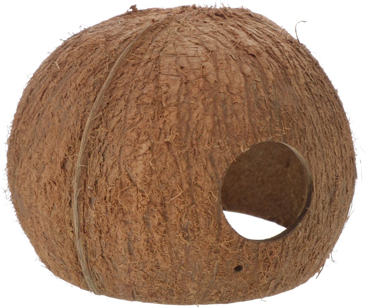 Пещера декоративная для аквариума JBL Cocos Cava, из кожуры кокоса, 10 х 10 х 9 смJBL6151200Декоративная пещера JBL Cocos Cava - это идеальное место для нереста и укрытия рыб. Пещера станет оригинальным украшением для вашего аквариума. Обитатели террариума охотно используют эту натуральную пещеру в качестве места для сна и укрытия. Изделие изготовлено из натурального материала без ядовитых веществ.Размер кожуры: 10 х 10 х 9 см.Диаметр отверстия: 3,5 см.