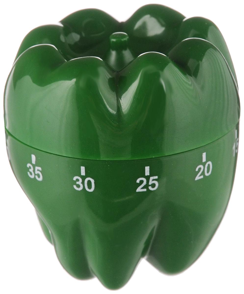 Таймер кухонный House & Holder Перец, на 60 минут54 009312Таймер кухонный House & Holder Перец изготовлен из пластика. Механический таймер станет надежным помощником на кухне. Максимальное время, на которое вы можете установить таймер, составляет 60 минут. Изделие громко зазвучит, когда блюдо будет готово, поэтому вы можете себе позволить отвлечься на любимый фильм, не опасаясь, что у вас что-то подгорит или переварится.Оригинальный дизайн таймера украсит интерьер любой современной кухни.