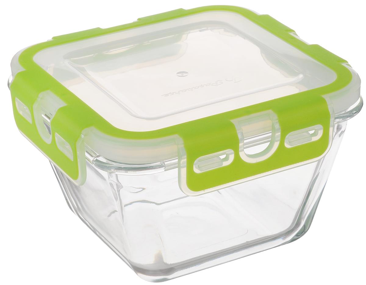 Контейнер для пищевых продуктов Pasabahce Storemax, 880 млVT-1520(SR)Контейнер Pasabahce Storemax, изготовленный из высококачественного стекла, предназначен для хранения любых пищевых продуктов. Крышка из пластика с резиновыми вставками герметично защелкивается специальным механизмом. Изделие устойчиво к воздействию масел и жиров, легко моется. Прозрачные стенки позволяют видеть содержимое. Контейнер имеет возможность хранения продуктов глубокой заморозки, обладает высокой прочностью. Контейнер Pasabahce Storemax удобен для ежедневного использования в быту.Можно мыть в посудомоечной машине и использовать в СВЧ.Размер контейнера (по верхнему краю): 14,5 х 14,5 см.Высота контейнера (без учета крышки): 8 см.
