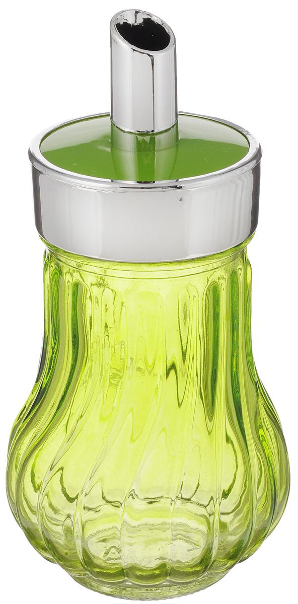 Банка для специй House & Holder, с дозатором, цвет: салатовый, 200 млFD-59Банка для специй House & Holder выполнена из прозрачного стекла салатового цвета и оснащена пластиковой крышкой с отверстием, благодаря которому, вы сможете приправить блюда, просто перевернув банку. Крышка легко откручивается, благодаря чему засыпать приправу внутрь очень просто. Такая баночка станет достойным дополнением к вашему кухонному инвентарю. Объем: 200 мл.Диаметр (по верхнему краю): 4,5 см.Высота банки (без учета крышки): 10,8 см.