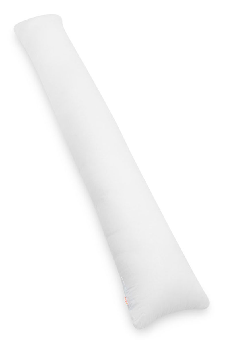 Био-подушка для всего тела I maxi Стандарт цвет белый2615S545JBБио-подушка I maxi - это длинная подушка, размера которой будет достаточно для комфорта высоких людей. Это большая подушка подойдет даже мужчинам. Удобна как длинная подушка для изголовья кровати, подушка- позиционер, большая подушка-обнимашка. Создаст барьер, если один из супругов спит очень чутко и просыпается от любого случайного прикосновения.Идеальна в качестве оригинального подарка парню или девушке. Мягкий наполнитель из тонкого полиэфирного волокна (микроволокно) гигиеничен и прост в уходе (машинная стирка). Подушка мягкая и комфортная, равномерно наполнена. Вы можете сгибать и скручивать подушку, чтобы принять удобную позу, потом подушка вернет свою первоначальную форму.