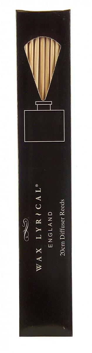 Палочки для диффузора Wax Lyrical, длина 20 см, 8 штRB8020Палочки для диффузора Wax Lyrical, выполненные из тростника, используются вместе со сменным блоком (наполнителем для ароматического диффузора). Меняя наполнитель в ароматическом диффузоре, обязательно используйте новые тростниковые палочки. В упаковке 8 палочек.