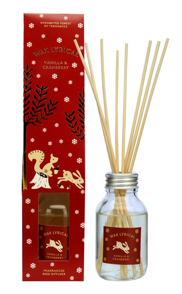 Диффузор ароматический Wax Lyrical Зимняя ягода, 100 млFS-80299Диффузор ароматический Wax Lyrical Зимняя ягода - это простое, изящное и долговременное решение, как наполнить дом или офис приятным запахом. Сладкая ягода, собранная в зимнем лесу. Она сохраняет в себе свои магические свойства и наполняет дом невероятно любимым праздничным ароматом с глубокой ванильной основой. Диффузор - это не просто освежитель воздуха, а элемент декора, который окутает вас своим приятным и нежным ароматом. Отлично подойдет в качестве подарка. Способ применения: поместите палочки в вазу с ароматической жидкостью. Степень интенсивности запаха может регулироваться объемом ароматической жидкости и количеством палочек. Товар сертифицирован.