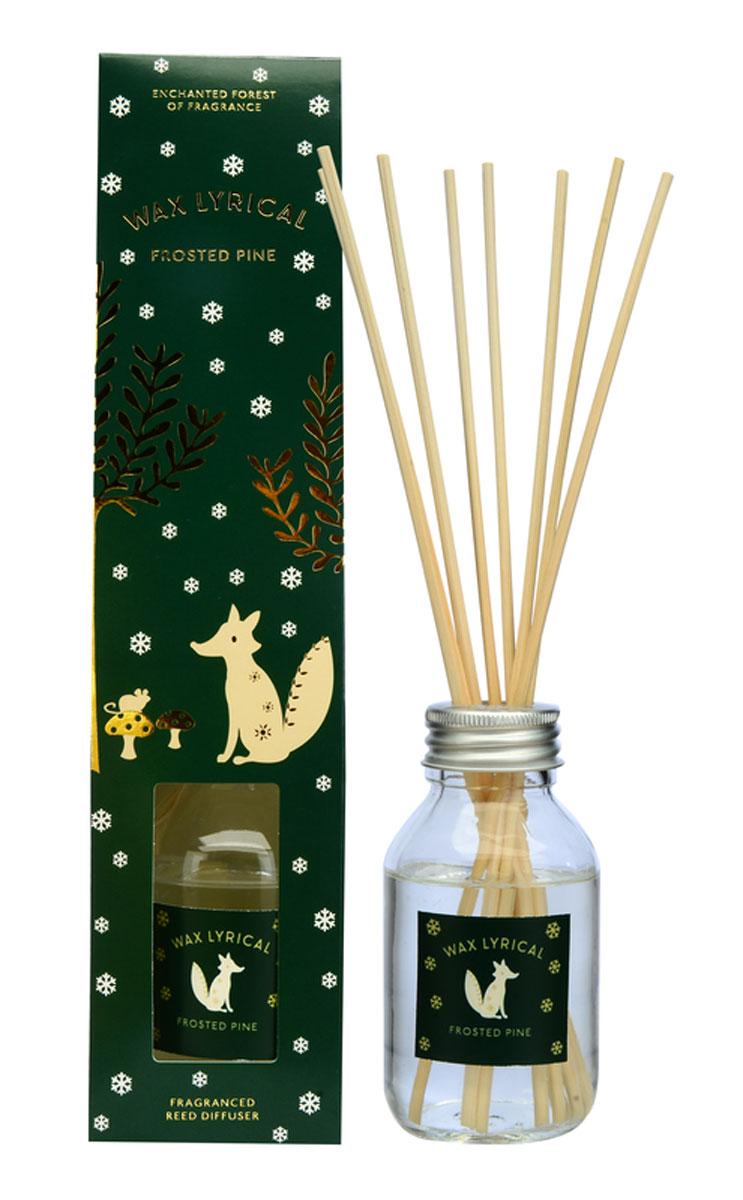 Диффузор ароматический Wax Lyrical Зимняя сосна, 100 млRG-D31SДиффузор ароматический Wax Lyrical Зимняя сосна - это простое, изящное и долговременное решение, как наполнить дом или офис приятным запахом. Глубокий аромат зимней хвои. Он переносит в атмосферу леса, окутанного тихой морозной ночью, которая наполняет воздух древесными нотами с прохладными зелеными аккордами. Диффузор - это не просто освежитель воздуха, а элемент декора, который окутает вас своим приятным и нежным ароматом. Отлично подойдет в качестве подарка. Способ применения: поместите палочки в вазу с ароматической жидкостью. Степень интенсивности запаха может регулироваться объемом ароматической жидкости и количеством палочек. Товар сертифицирован.