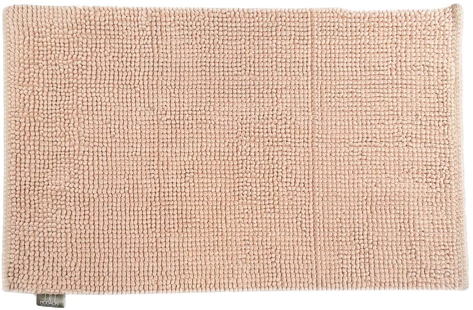 Коврик для ванной Modalin Mandi, цвет: абрикосовый, 50 х 80 см5028/CHAR001Коврик для ванной Modalin Mandi выполнен из высококачественного хлопка. Изделие долго прослужит в вашем доме, добавляя тепло и уют, а также внесет неповторимый колорит в интерьер ванной комнаты.
