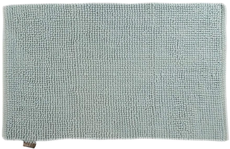 Коврик для ванной Modalin Mandi, цвет: светло-голубой, 50 х 80 смES-412Коврик для ванной Modalin Mandi выполнен из высококачественного хлопка. Изделие долго прослужит в вашем доме, добавляя тепло и уют, а также внесет неповторимый колорит в интерьер ванной комнаты.