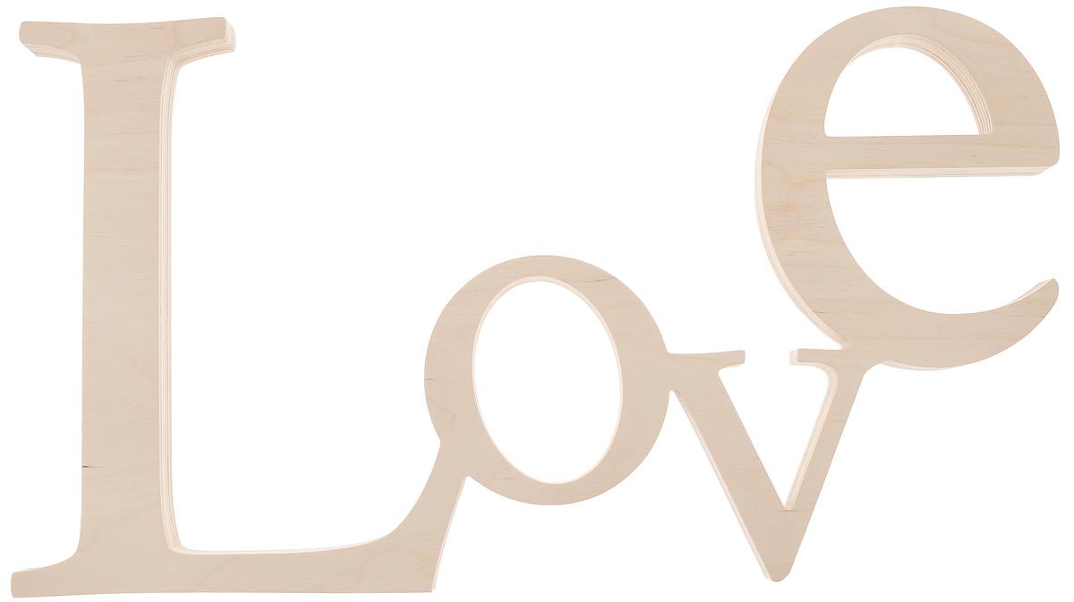 Табличка декоративная Magellanno Love3, некрашеная, 48 х 26 см54 009318Декоративная табличка Magellanno Love3,выполненная из фанеры, идеальноподойдет к интерьерам в стиле лофт, прованс, кантри, темсамым украсив любую комнату в вашем доме.А также табличка Оранжевый Слоник Love3 способна дополнить вашу фотосессию в день свадьбы и не только, придав ей оригинальности и смысла.Изделие ручной работы.Размер таблички: 48 х 26 см.Толщина таблички: 1,7 см.