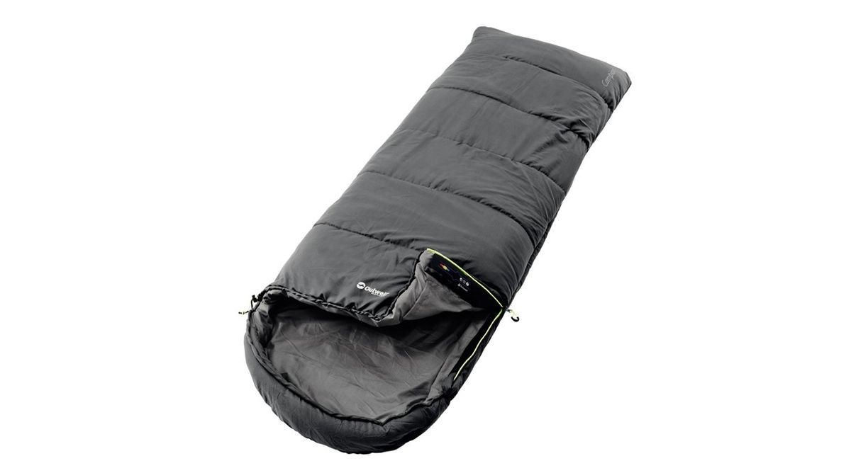 Спальный мешок Outwell Campion, цвет: серый, 215 х 80 см230092Спальный мешок Outwell Campion выполнен из трикотажного полиэстера. В данном мешке в качестве наполнителя используется одинарный слой Isofill. Снабженный многими функциями, спальный мешок надежно прослужит вам не один год.Особенности:Комфортный капюшон.Защита молнии для тепла на полную длину.Внутренний карман для небольших вещей.Угловые петли крепления вкладыша.Компрессионный мешок.Защита от заедания молнии.Верхняя температура комфорта: +24°С.