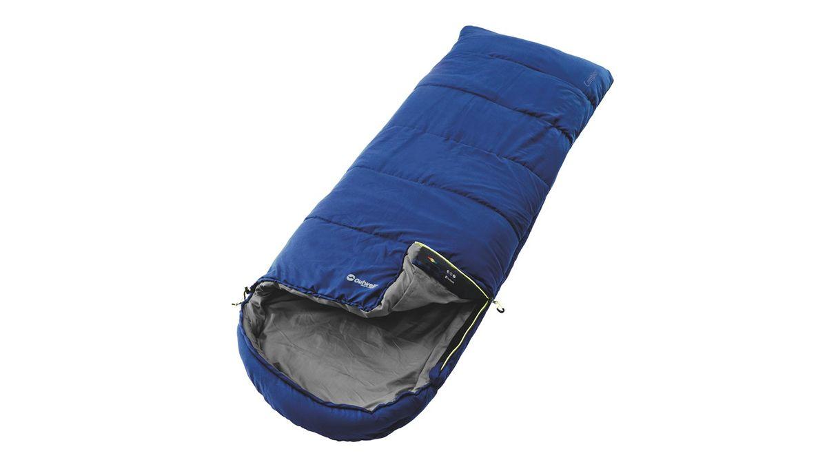 Спальный мешок Outwell Campion, цвет: синий, 215 х 80 см230134Спальный мешок Outwell Campion выполнен из трикотажного полиэстера. В данном мешке в качестве наполнителя используется одинарный слой Isofill. Снабженный многими функциями, спальный мешок надежно прослужит вам не один год.Особенности:Комфортный капюшон.Защита молнии для тепла на полную длину.Внутренний карман для небольших вещей.Угловые петли крепления вкладыша.Компрессионный мешок.Защита от заедания молнии.Верхняя температура комфорта: +24°С.