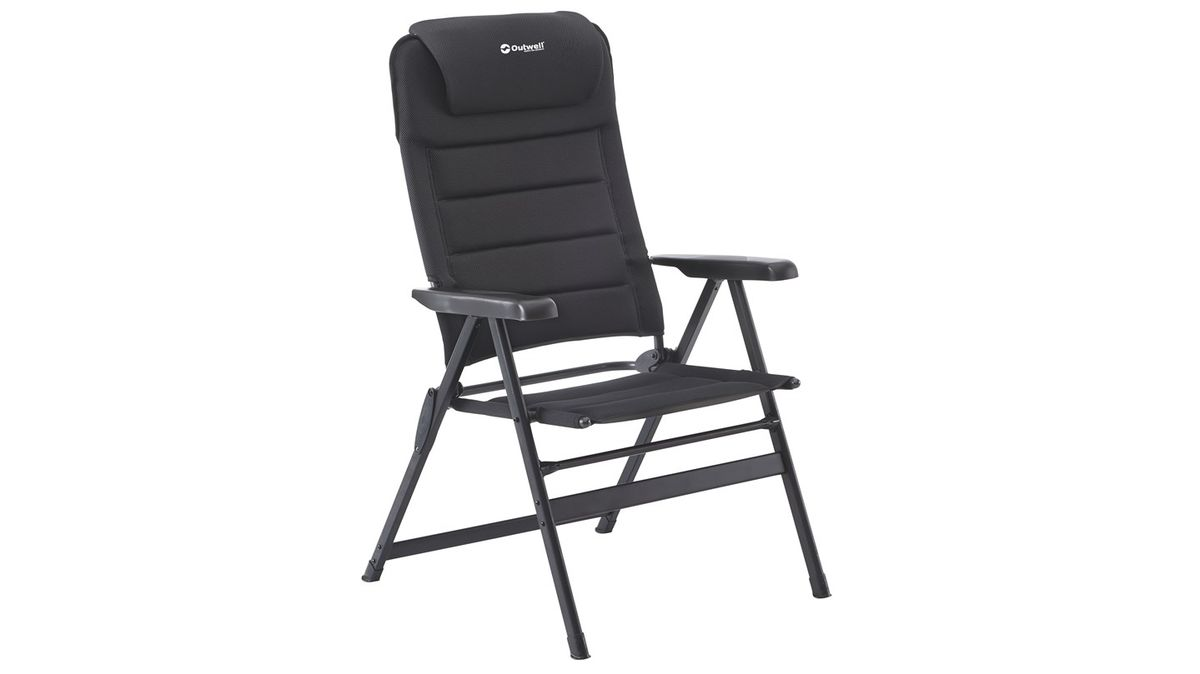 Кресло складное Outwell  Grand Canyon , цвет: черный, 73 х 75 х 136 см - Складная и надувная мебель