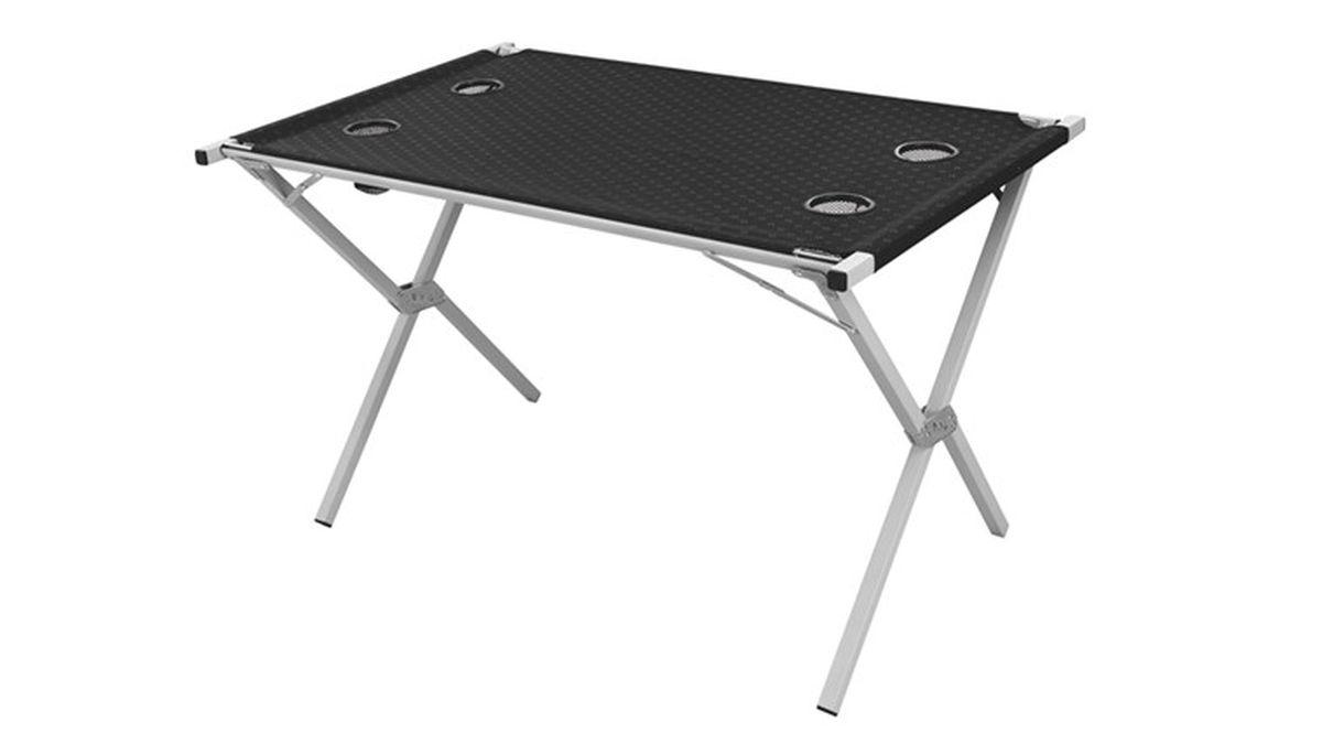 Стол складной Outwell Rupert Table, 70 х 116 х 70 см530018Стол складной Outwell Rupert Table универсальный, легкий и удобный стол с регулировкой ножек. Последний писк черной коллекции Blacktop Collection с изящным логотипом из полиэстера размером XL для максимального комфорта. Эти новшества дополняет прочный и легкий каркас, выполненный из стали и алюминия.Особенности:Очень быстро складывается и раскладываетсяНе требует сборкиВысокопрочная стальМалый весВ сложенном виде очень компактен