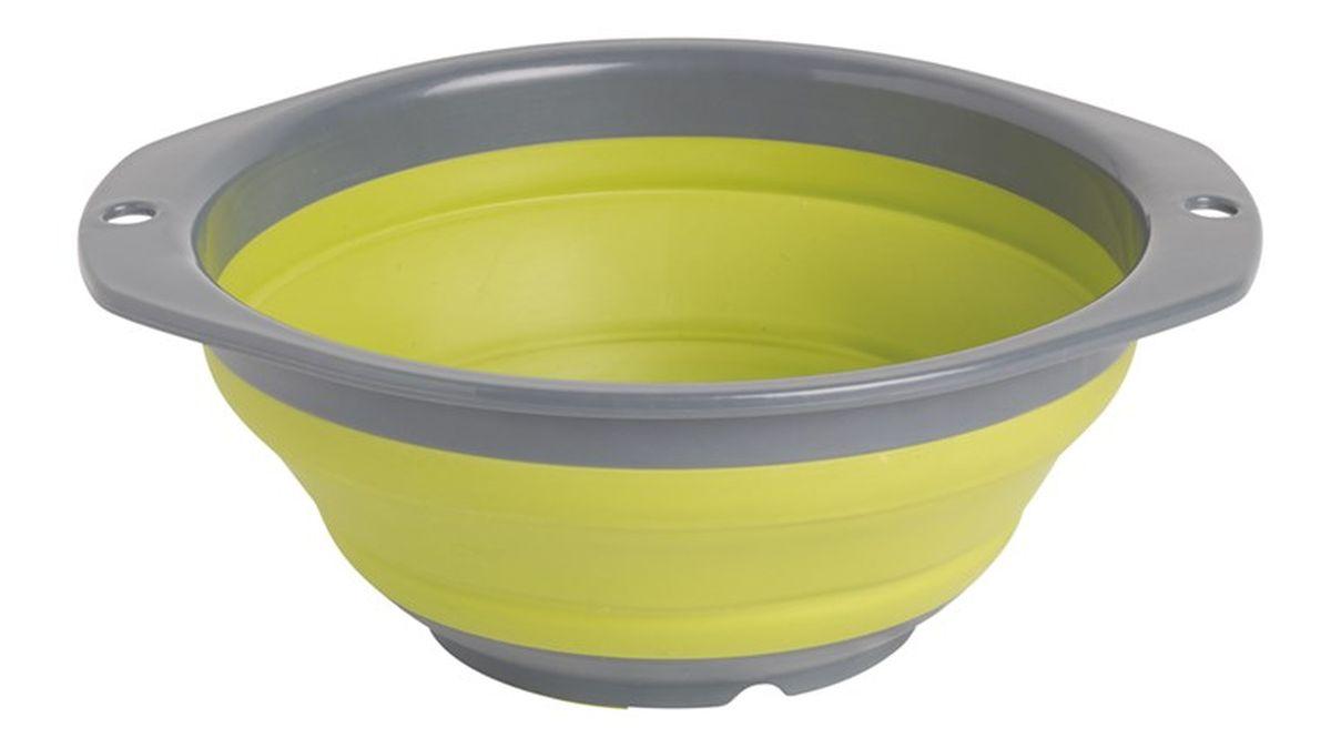 Миска складная Outwell Collaps Bowl S, цвет: зеленый650112В сложенном виде чаша Outwell Collaps Bowl S практически плоская. Противоударная модель, легко моется и складывается/раскладывается.