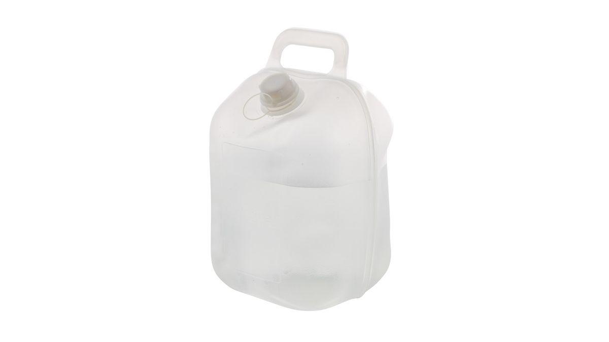 Емкость для воды Outwell Water Carrier, цвет: серый, 10 л650173Емкость для воды Outwell Water Carrier, изготовленная из прочного пластика, несомненно, пригодится вам во время путешествия. Заполняется канистра с помощью откручивающейся крышки. Для переноски сверху предусмотрена удобная ручка. При необходимости канистру можно сложить.