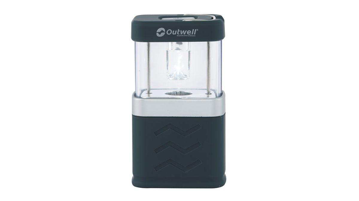 Лампа Outwell Morion Lantern, цвет: черныйEMAG-01Лампа Outwell Morion Lantern пригодится в походе или на рыбалке, чтобы осветить пространство вокруг. Она работает от 4 батарей АА, мощность ее светового потока составляет 120 лм. Лампа имеет 4 режима свечения: яркий, спокойный, мигающий и ночник. Лампа выполнена из метала и пластика. Она имеет складной крючок, ее можно подвешивать.Размер: 12 х 7 х 5 см.