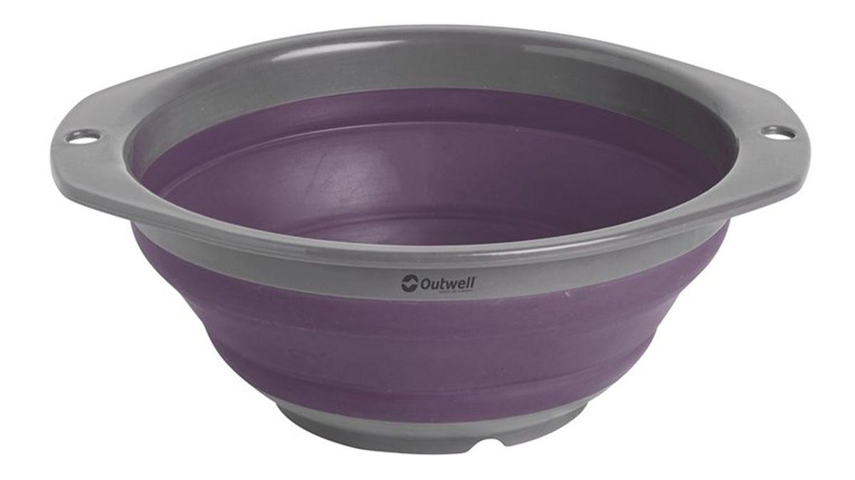 Миска Outwell Collaps Bowl S Plum, цвет: фиолетовый650476В сложенном виде чаша Outwell Collaps Bowl SPlum практически плоская. Противоударная, легко моется и складывается/раскладывается.