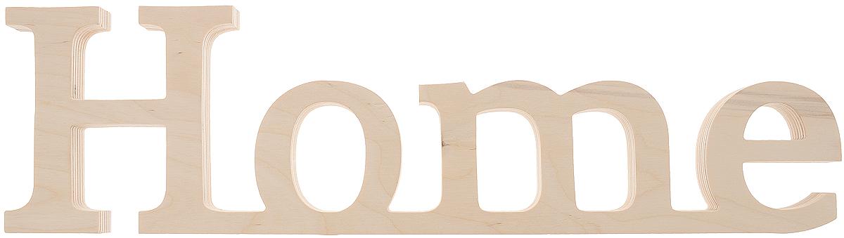 Табличка декоративная Magellanno Home2, некрашеная, 48 х 13 см94672Декоративная табличка Magellanno Home2, выполненная из фанеры, идеально подойдет к интерьерам в стиле лофт, прованс, шебби-шик, тем самым украсив любую комнату в вашем доме.Именно такие уютные и приятные мелочи позволяют называть пространство, ограниченное четырьмя стенами, домом.Размер таблички: 48 х 13 см.Толщина таблички: 1,8 см.