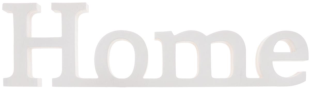 Табличка декоративная Magellanno Home2, цвет: белый, 48 х 13 смTHN132NДекоративная табличка Magellanno Home2, выполненная из фанеры, идеально подойдет к интерьерам в стиле лофт, прованс, шебби-шик, тем самым украсив любую комнату в вашем доме.Именно такие уютные и приятные мелочи позволяют называть пространство, ограниченное четырьмя стенами, домом.Размер таблички: 48 х 13 см.Толщина таблички: 1,8 см.