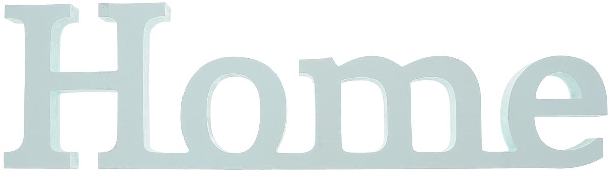 Табличка декоративная Magellanno Home2, цвет: бирюзовый, 48 х 13 см12723Декоративная табличка Magellanno Home2, выполненная из фанеры, идеально подойдет к интерьерам в стиле лофт, прованс, шебби-шик, тем самым украсив любую комнату в вашем доме.Именно такие уютные и приятные мелочи позволяют называть пространство, ограниченное четырьмя стенами, домом.Размер таблички: 48 х 13 см.Толщина таблички: 1,8 см.